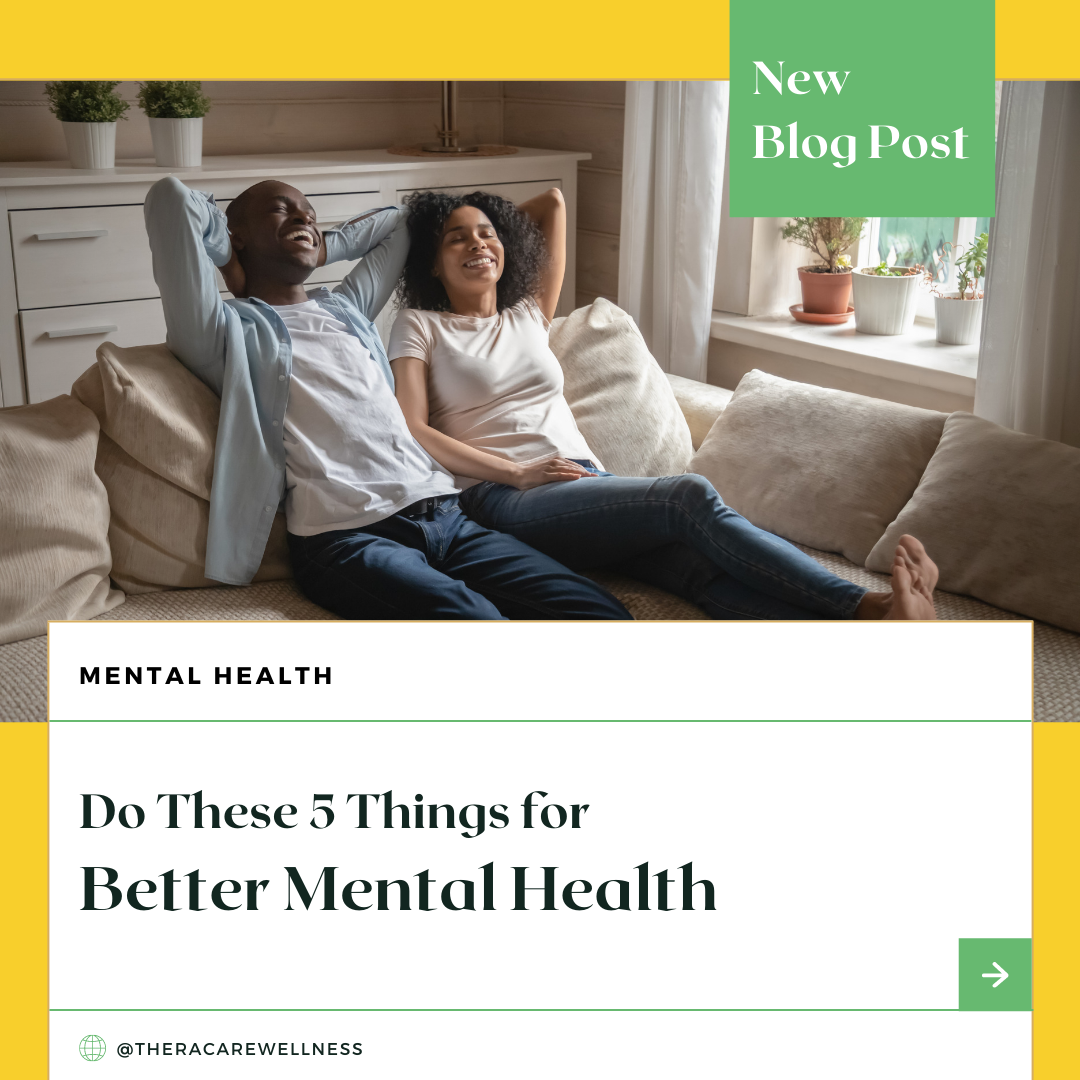 Do These 5 Things for Better Mental Health