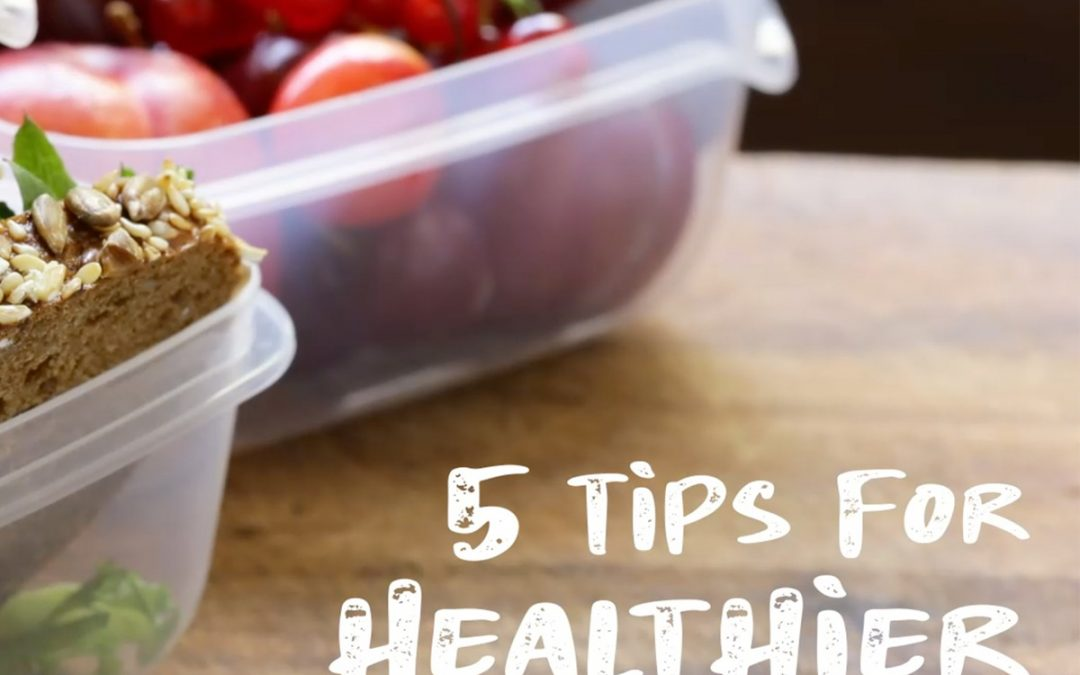 5 Tips for Healthier To-Go Lunches