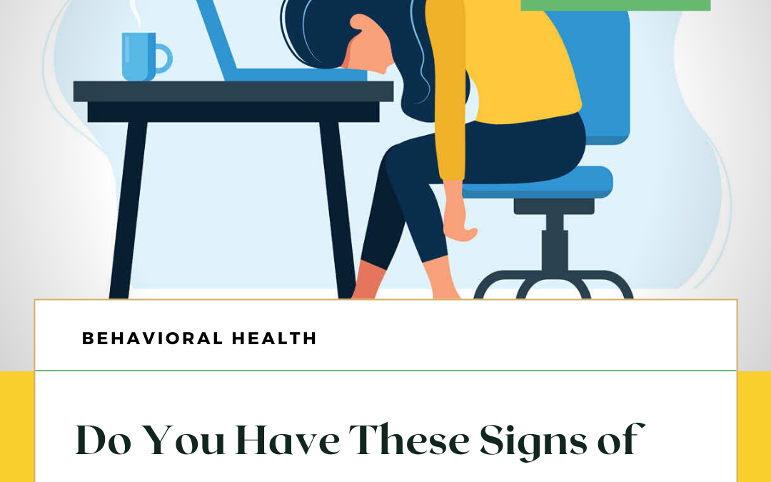 Do You Have These Signs of Depression?