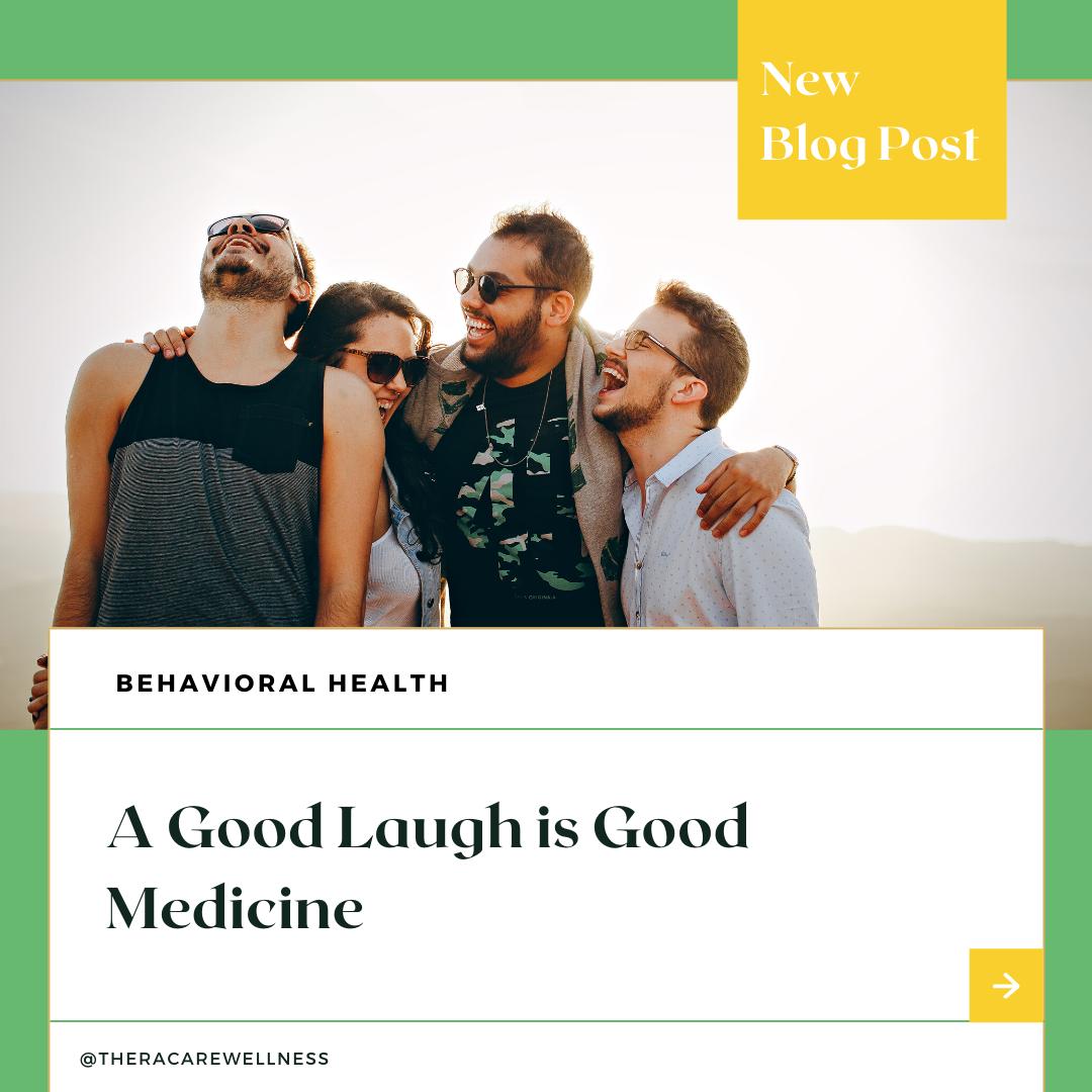 A Good Laugh Is Good Medicine